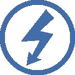 icono instalaciones eléctricas en general