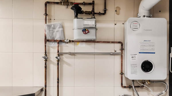 detalles de instalaciones de gas