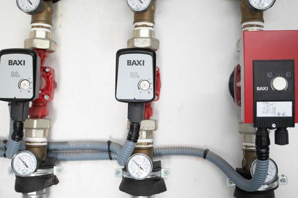 Instalación de calefacción de pellets