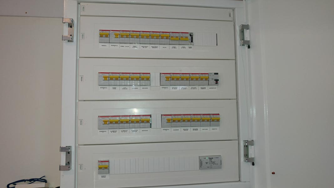 Instalaciones eléctricas. Carma Bueu.